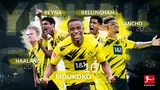 Moukoko, the latest member of the BVB boy band