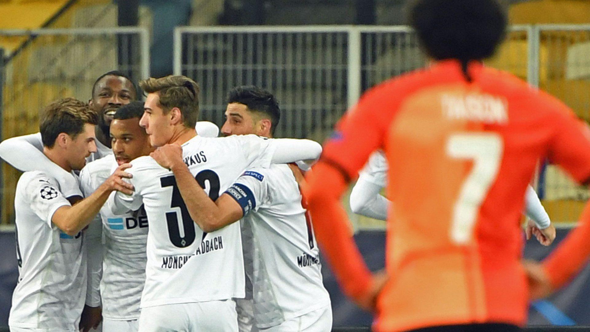 Bundesliga Alassane Plea Hits Hat Trick In Borussia Monchengladbach S 6 0 Rout Of Shakhtar Donetsk
