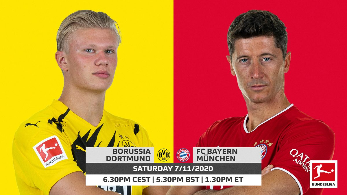 Bundesliga Borussia Dortmund Vs Bayern Munich Probable Line Ups Match Stats And Live Blog