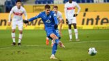 Kramaric scores on return as Hoffenheim are held by Stuttgart