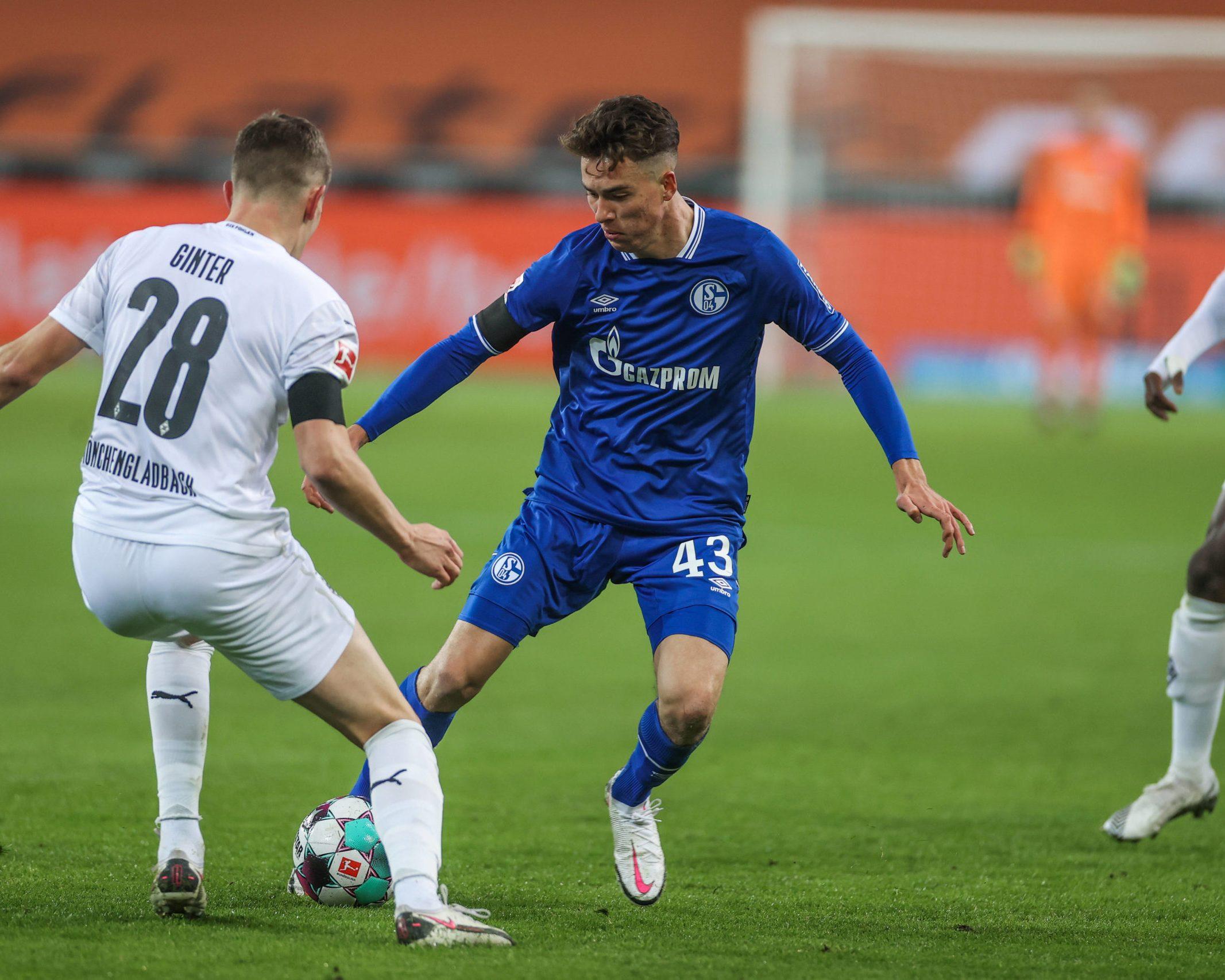 Matthew Hoppe I Was Ready For Schalke Debut Bundesliga
