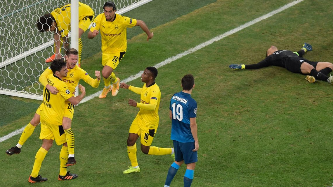 Bundesliga | Borussia Dortmund turn the tables on Zenit St. Petersburg to  top UEFA Champions League F