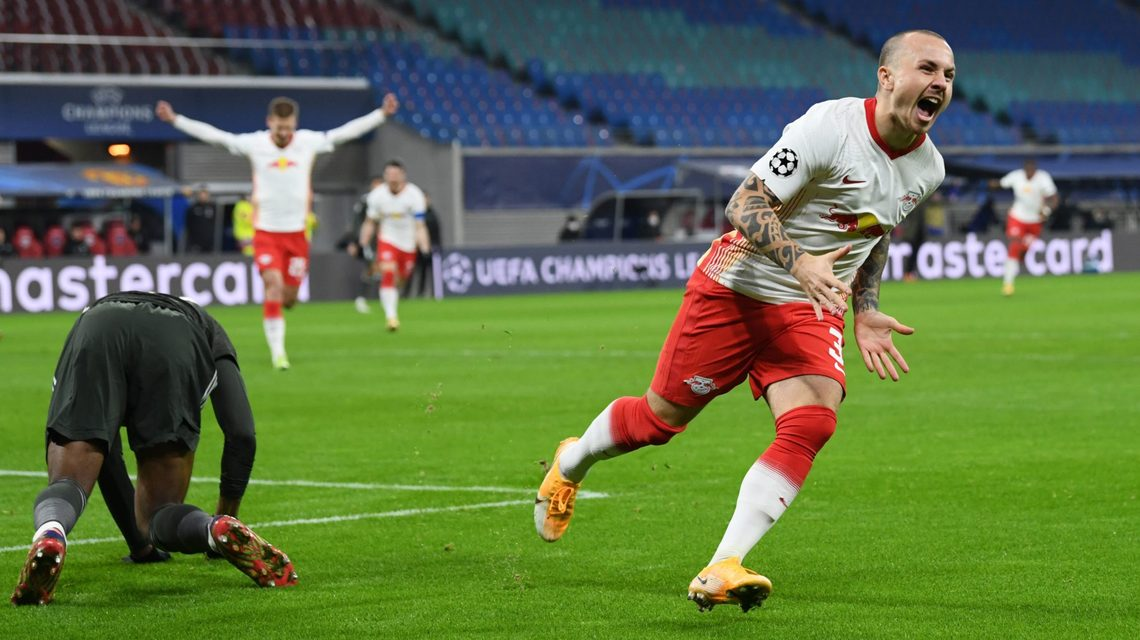 Bundesliga | Angelino inspires win over Manchester United as RB Leipzig  progress to UEFA Champions league knockout rounds