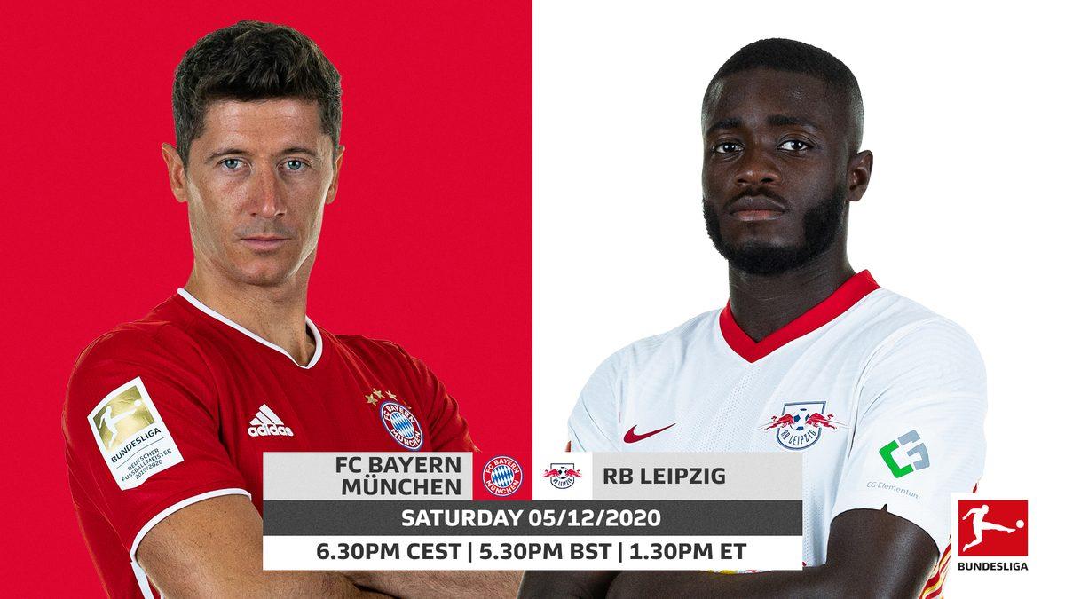 Bayern Munich vs RB Leipzig - 0h30 ngày 6/12