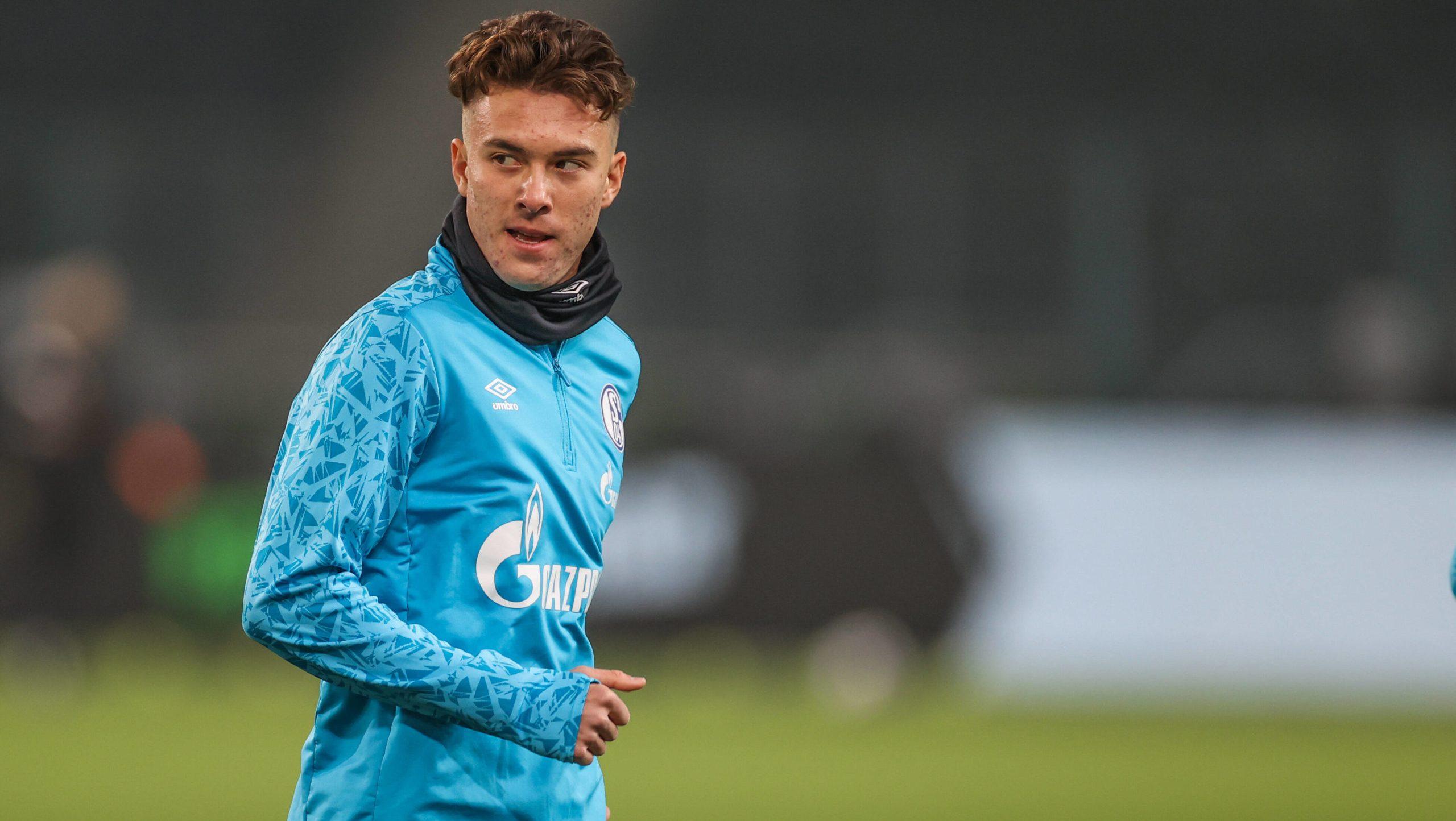 "Matthew Hoppe: joining Schalke was a ""no-brainer"""
