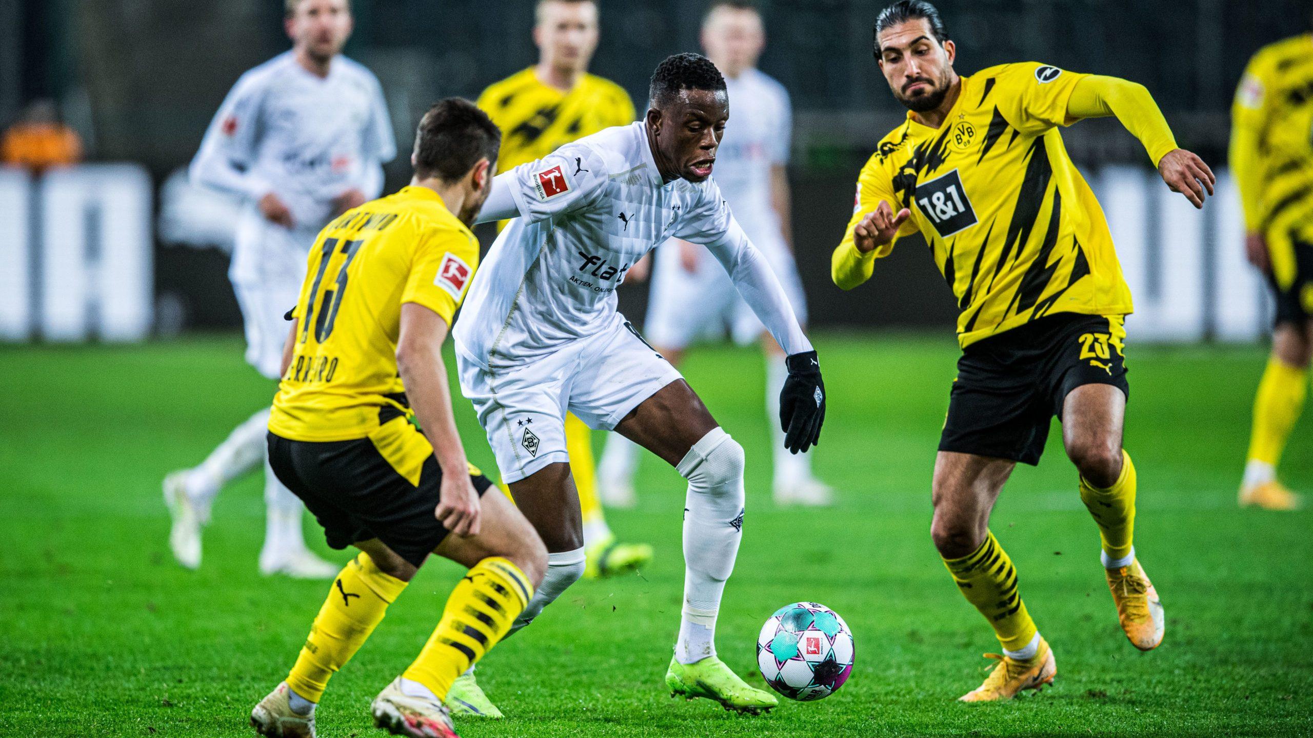 Gladbach gegen Dortmund in der Taktik-Analyse