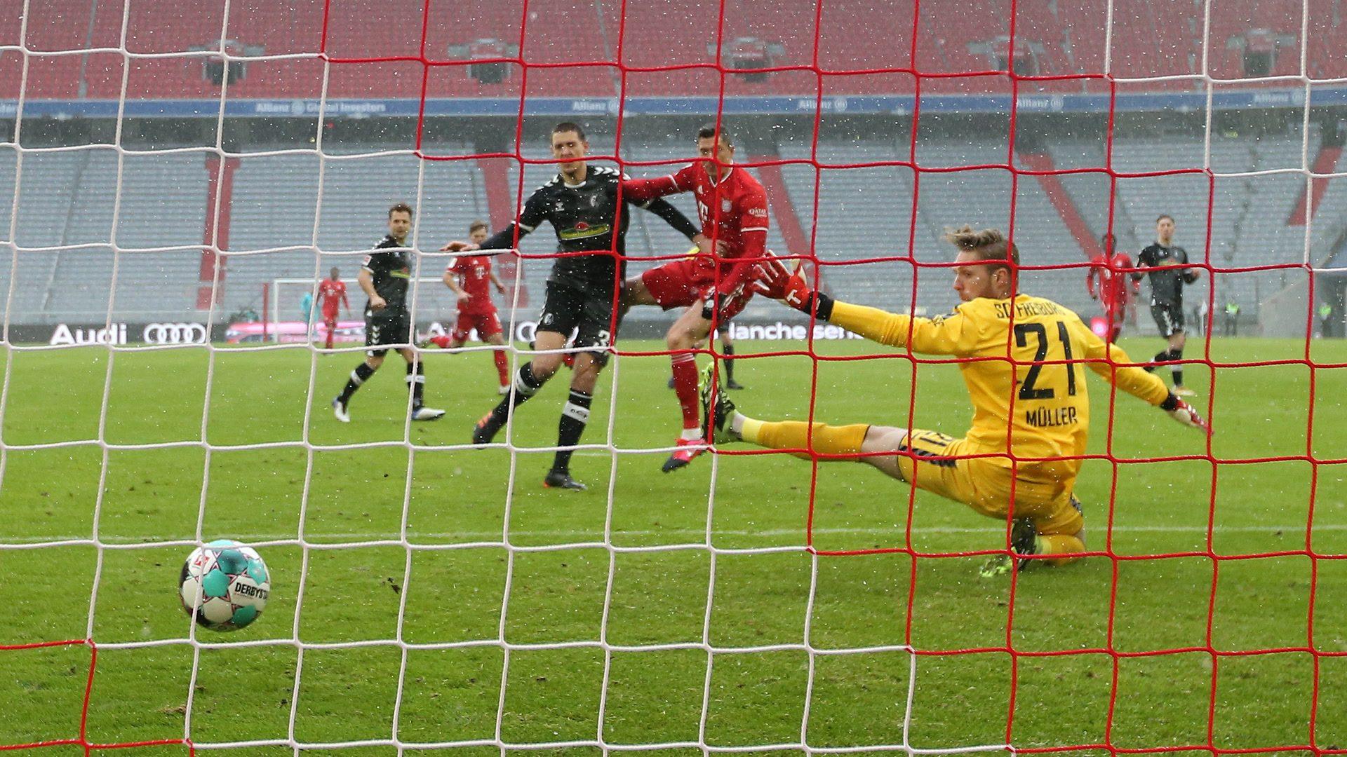 Bayern ist nach 2:1 gegen Freiburg Hinrundenmeister