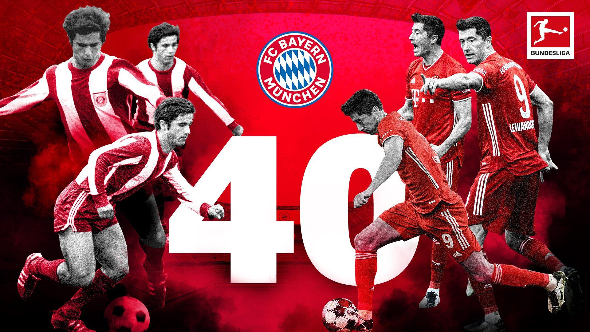 Lewandowski jagt 40-Tore-Rekord von Gerd Müller
