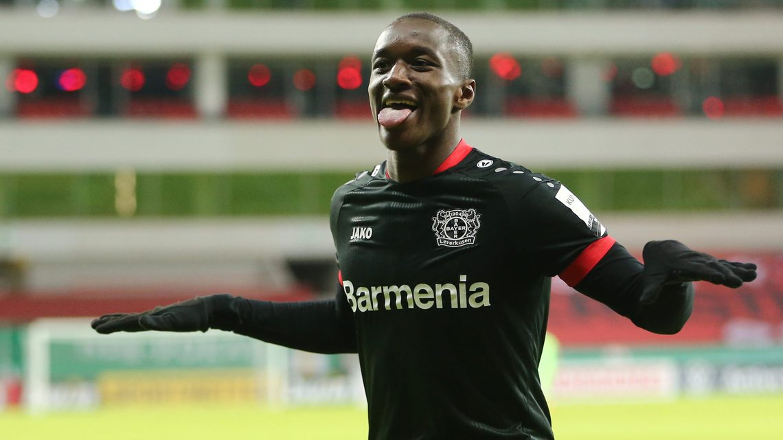 Bundesliga | Moussa Diaby double helps Bayer Leverkusen come from behind to  beat Eintracht Frankfurt in DFB Cup second round