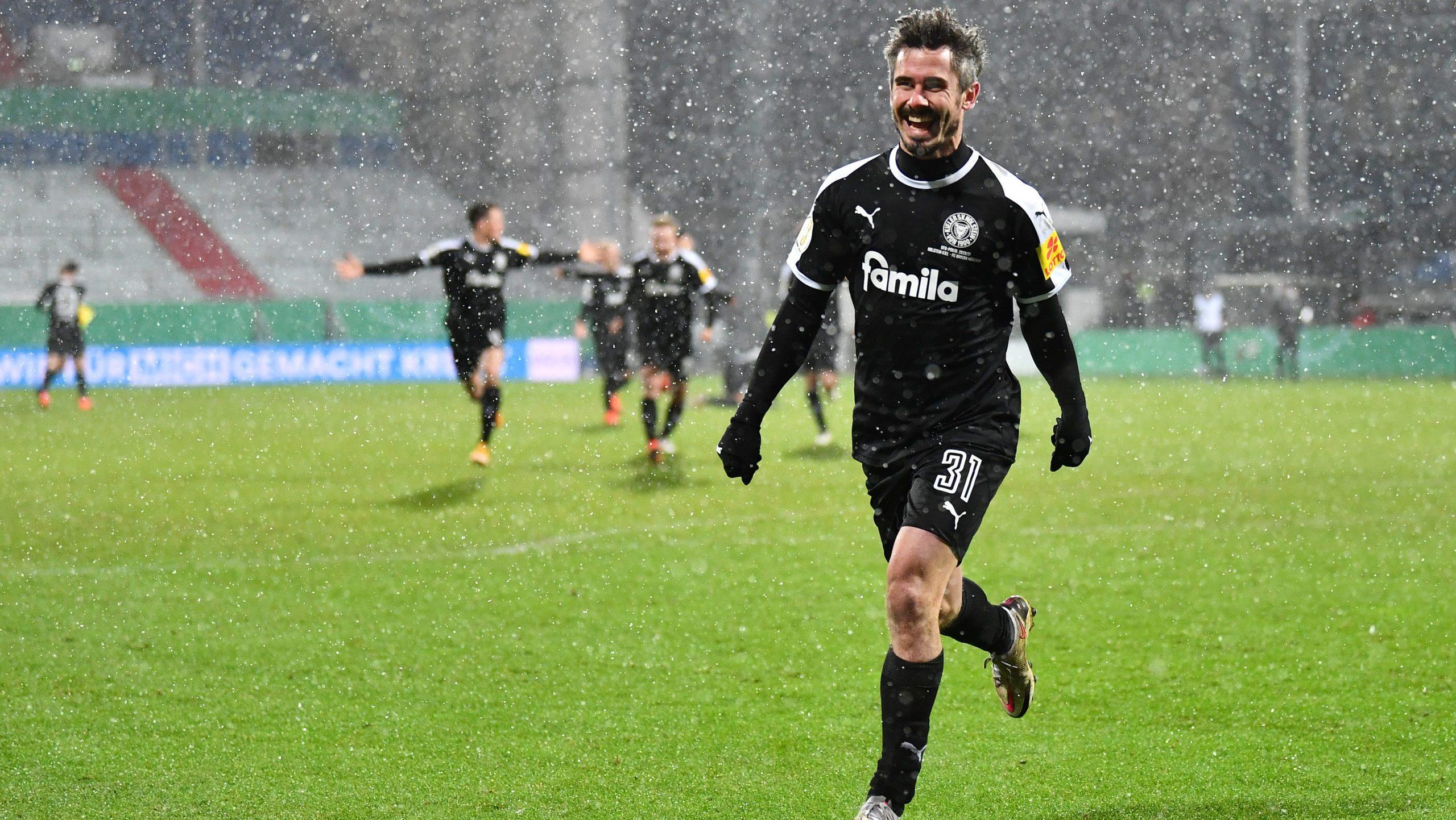 """Kiel überrascht Bayern: """"Haben uns das verdient"""""""