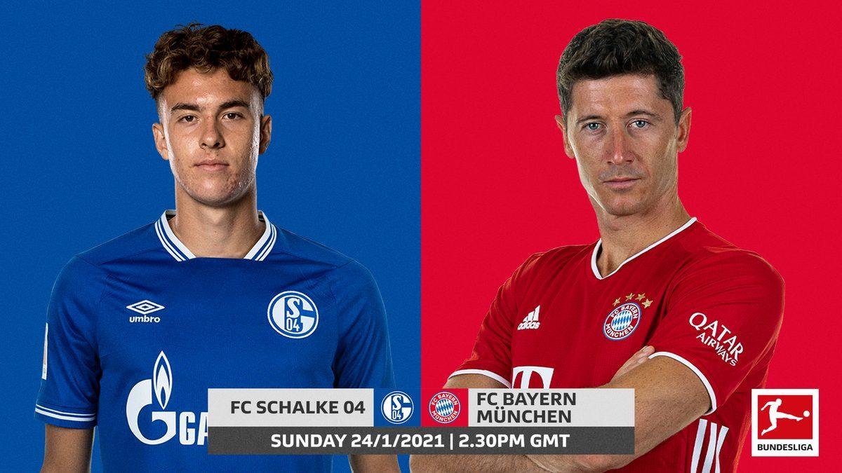 Schalke 04 vs Bayern Munich – Thống kê, dự đoán tỷ số, đội hình