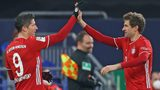 Lewandowski and Müller on target at Schalke