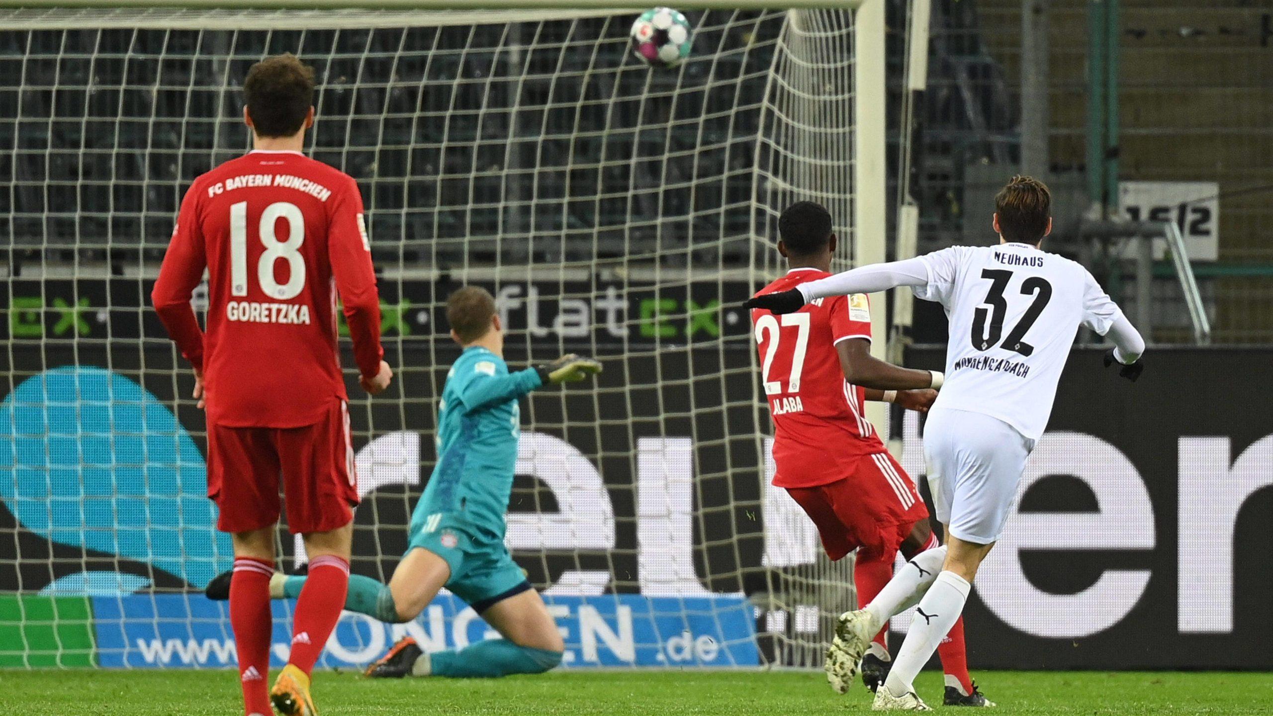 Bundesliga   Borussia Mönchengladbach - FC Bayern   Spielbericht