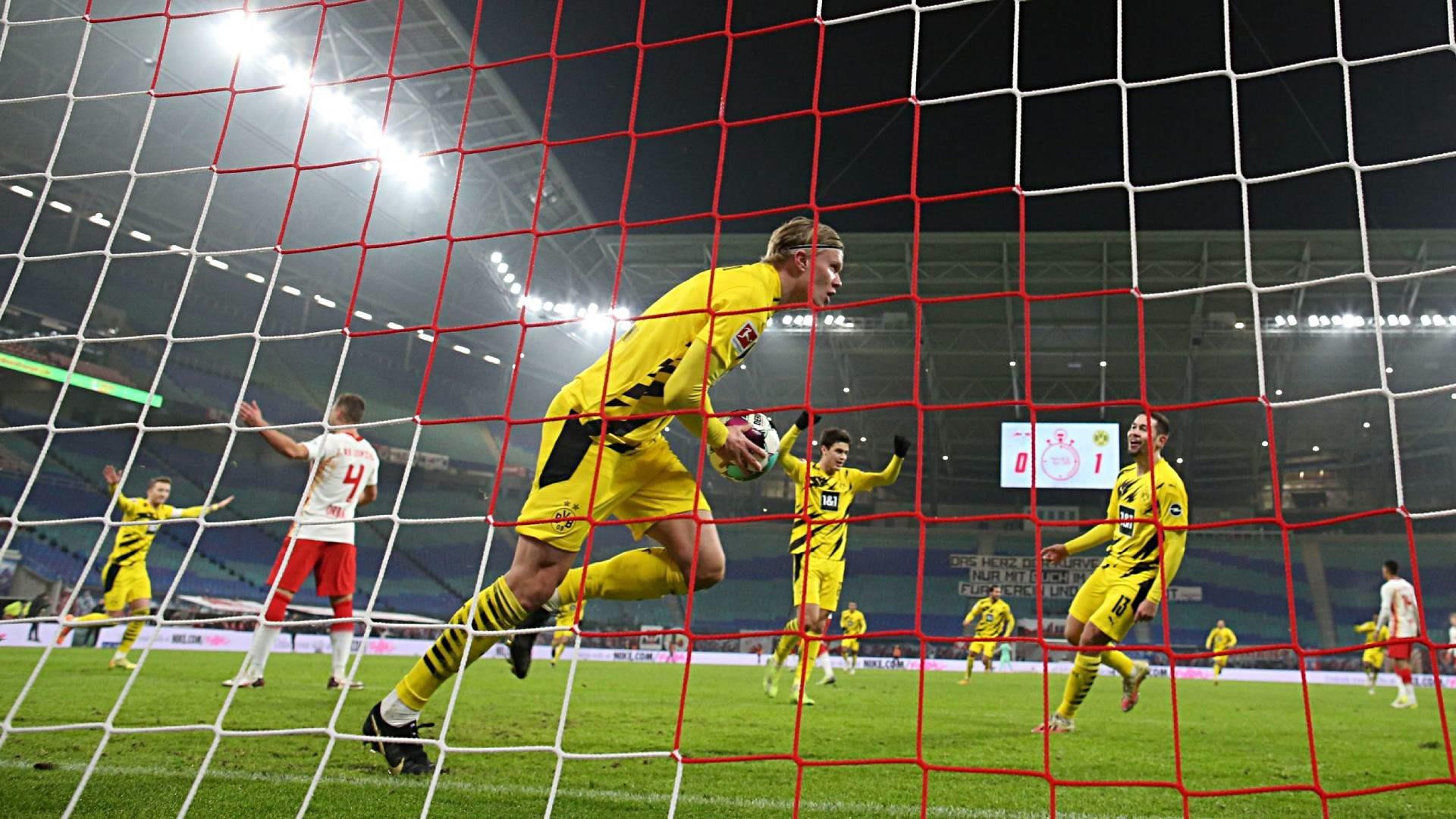 Matchwinner Haaland bringt BVB wieder in Lauerstellung