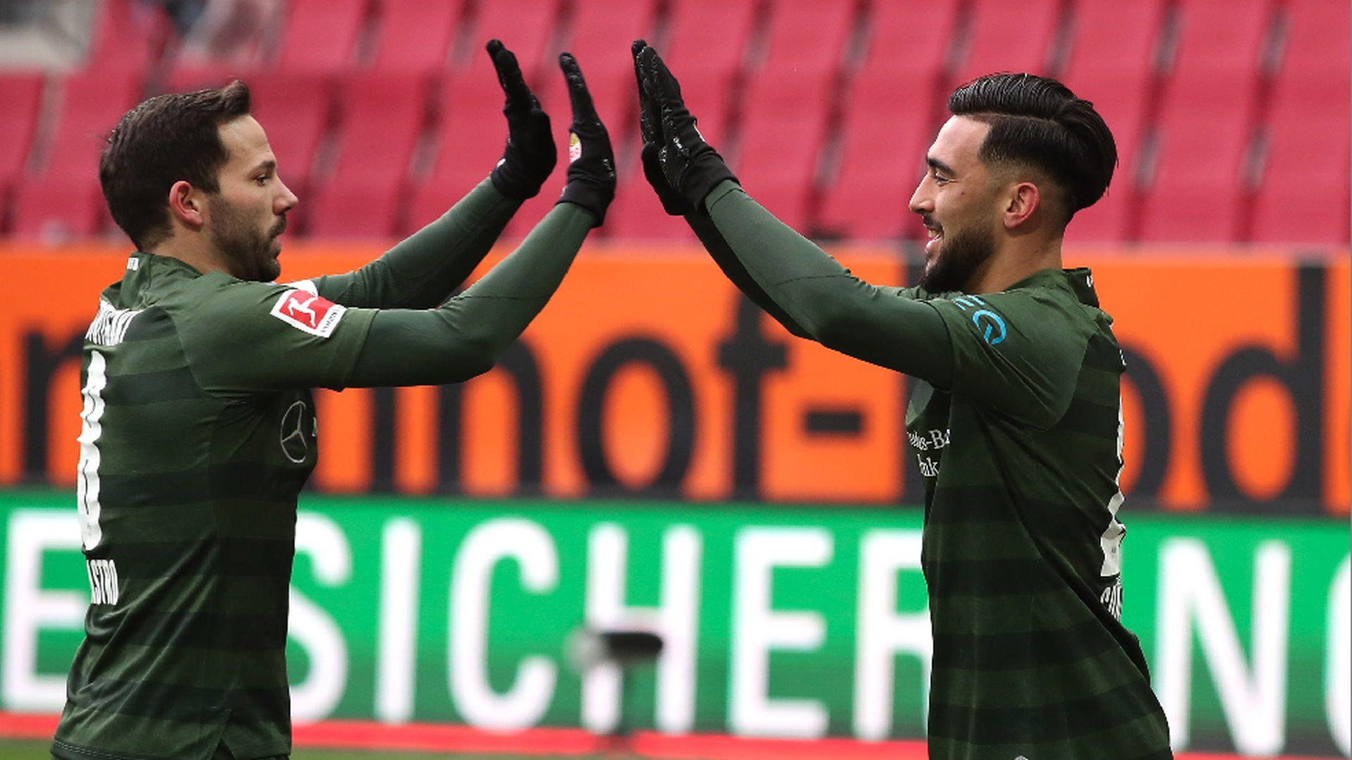 Gonzalez pulls the strings as Stuttgart beat Augsburg