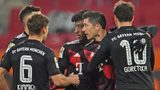 Lewandowski penalty enough for Bayern in Augsburg