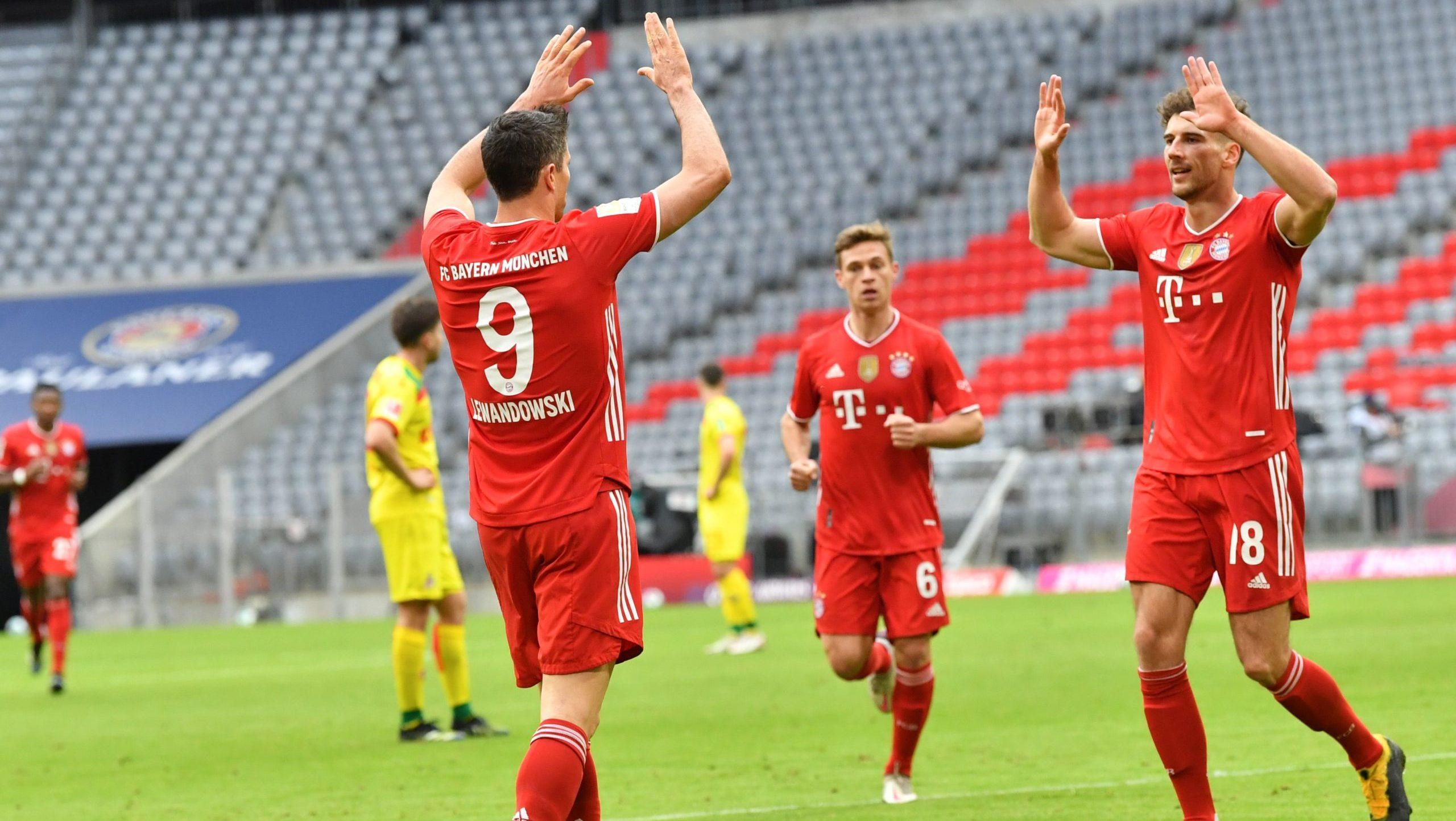 Der FC Bayern gewinnt 5:1 gegen den 1. FC Köln