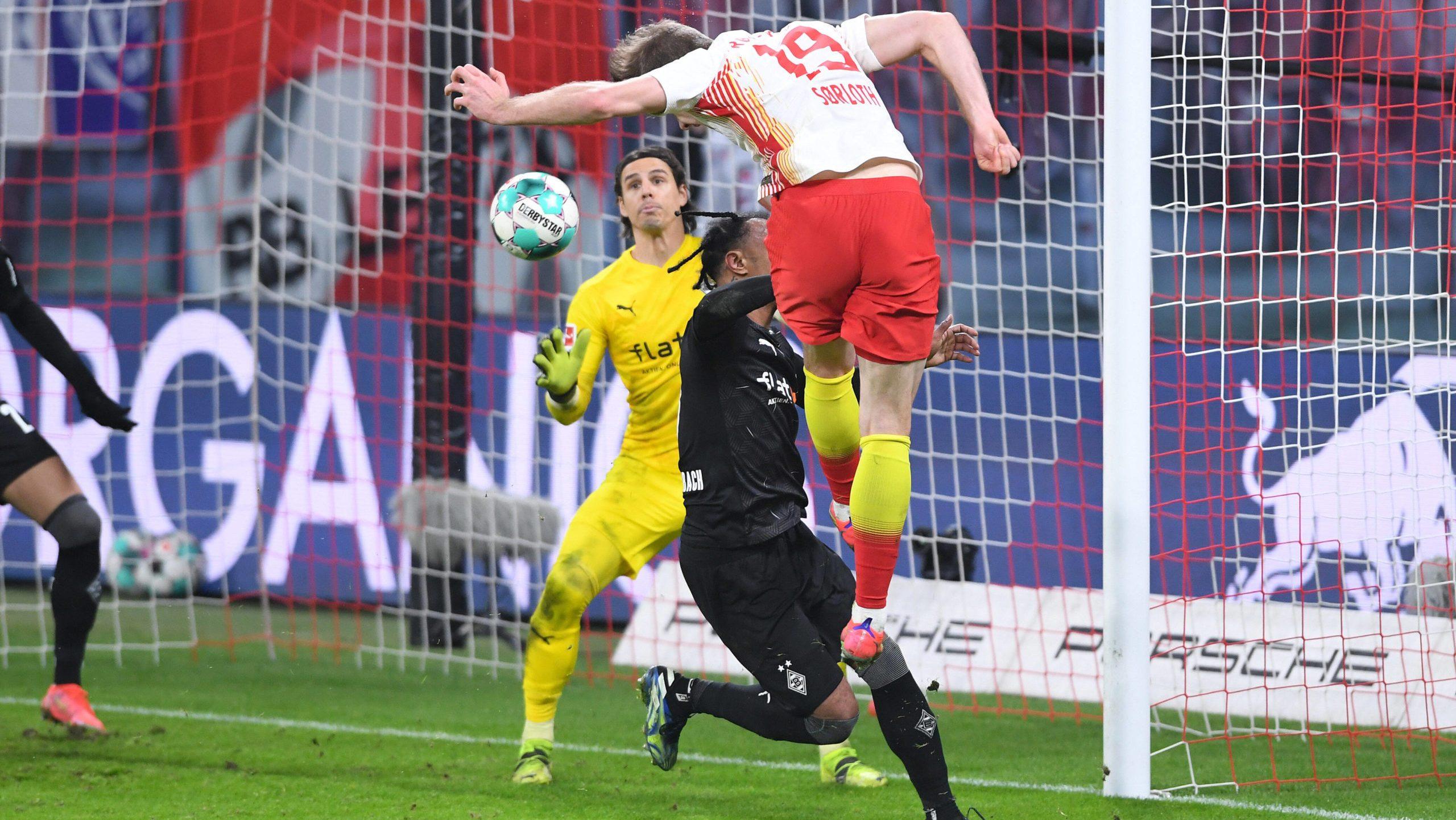Leipzig siegt im Topspiel gegen Mönchengladbach