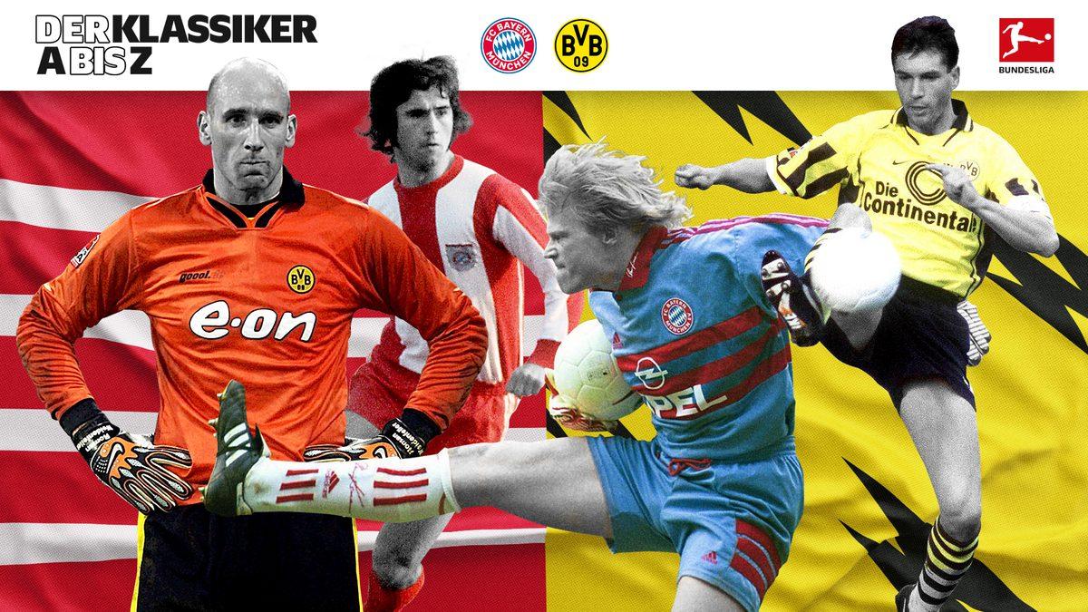 Klassiker von A bis Z: Alles zu Bayern gegen Dortmund