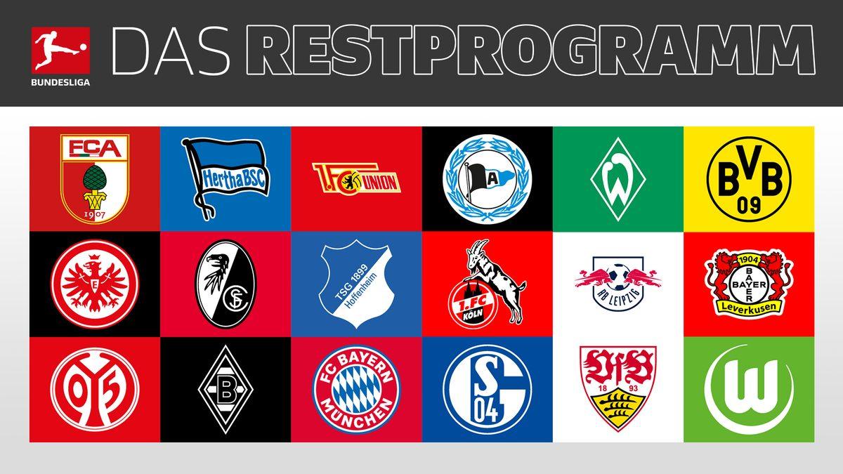 Saisonfinale: Das Restprogramm aller Clubs