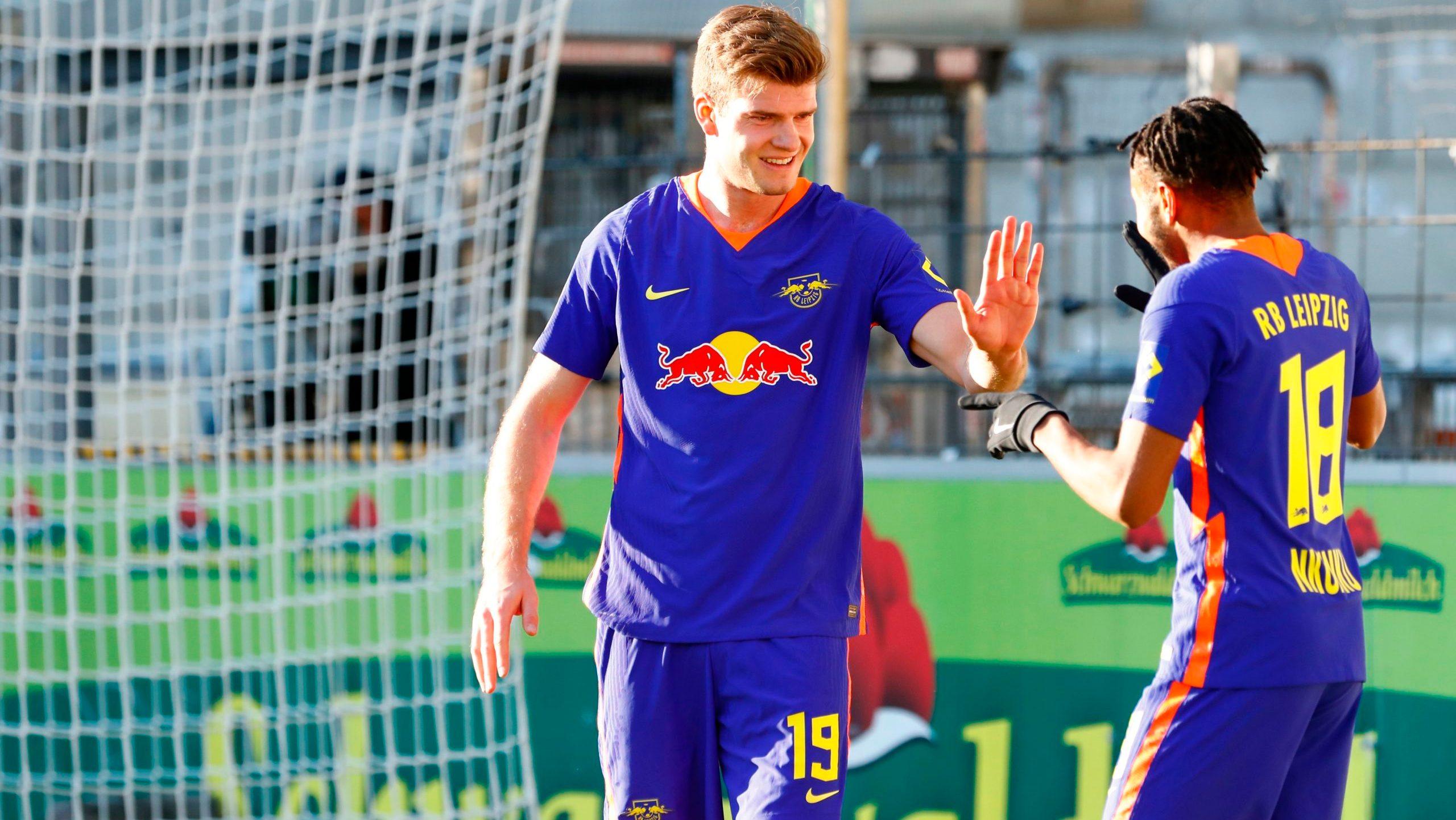 RB Leipzig siegt souverän in Freiburg