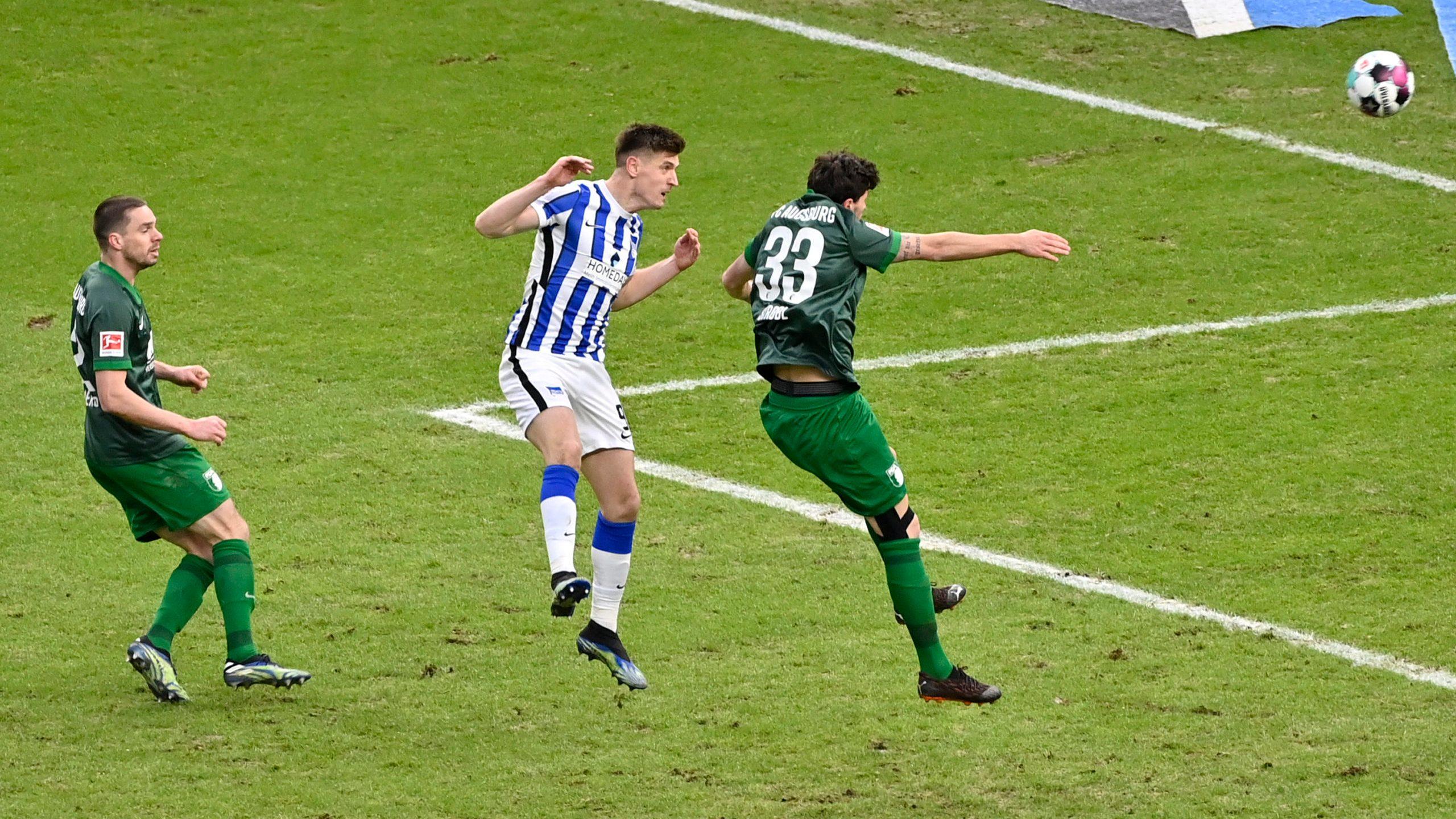 2:1! Hertha dreht die Partie gegen den FCA