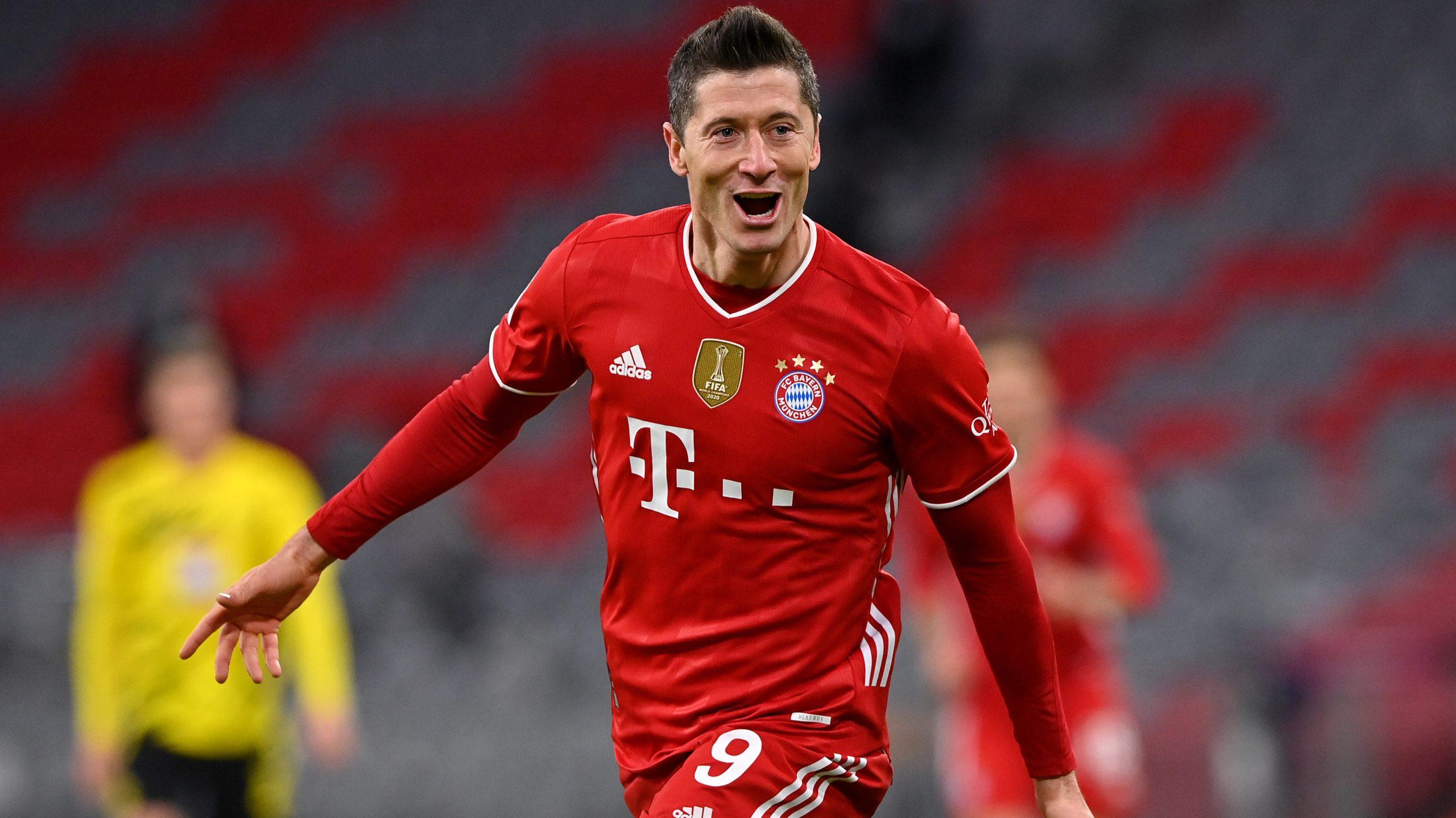 Schon 31 Saisontore - Lewandowski jagt ewigen Rekord