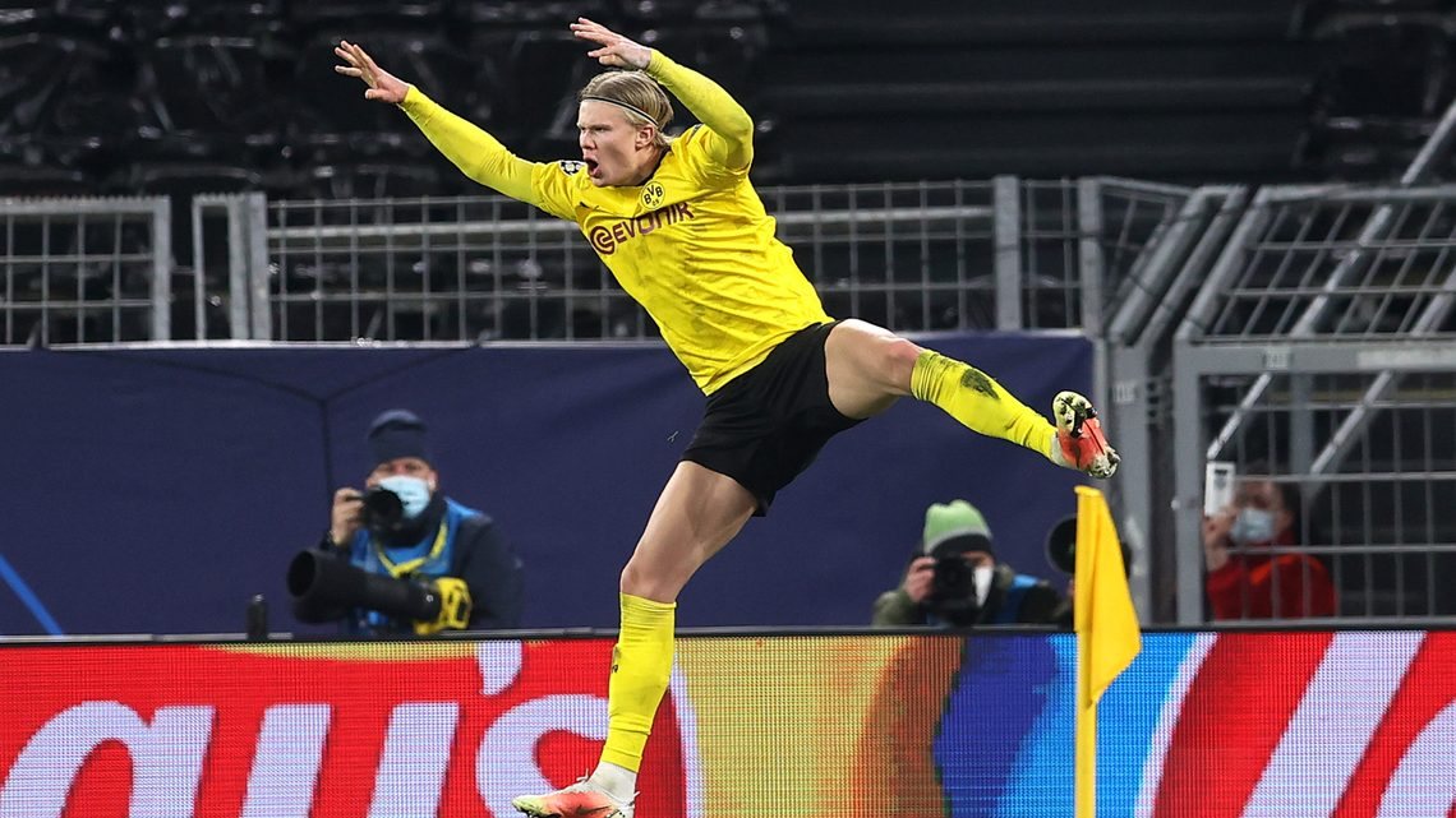 Bundesliga | Erling Haaland double against Sevilla helps Borussia Dortmund  into UEFA Champions League quarter-finals