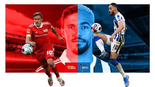 Berlin-Derby Union vs Hertha: Kruse gegen Cunha
