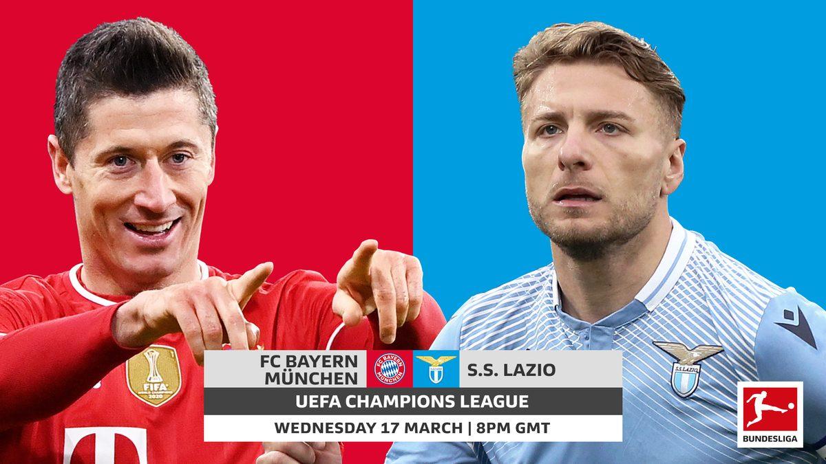 Bayern Munchen vs Lazio: Prediction, Lineups, Team News, Betting Tips & Match Previews