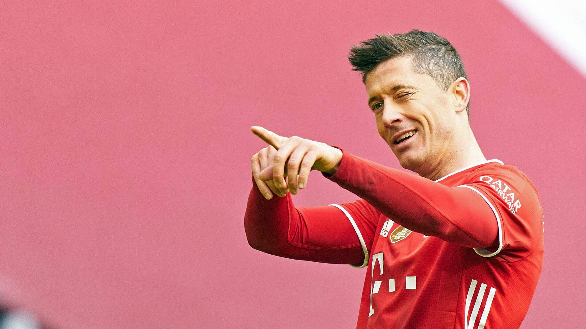 Bundesliga Bayern Munich S Robert Lewandowski Eyeing Scoring Record On Return