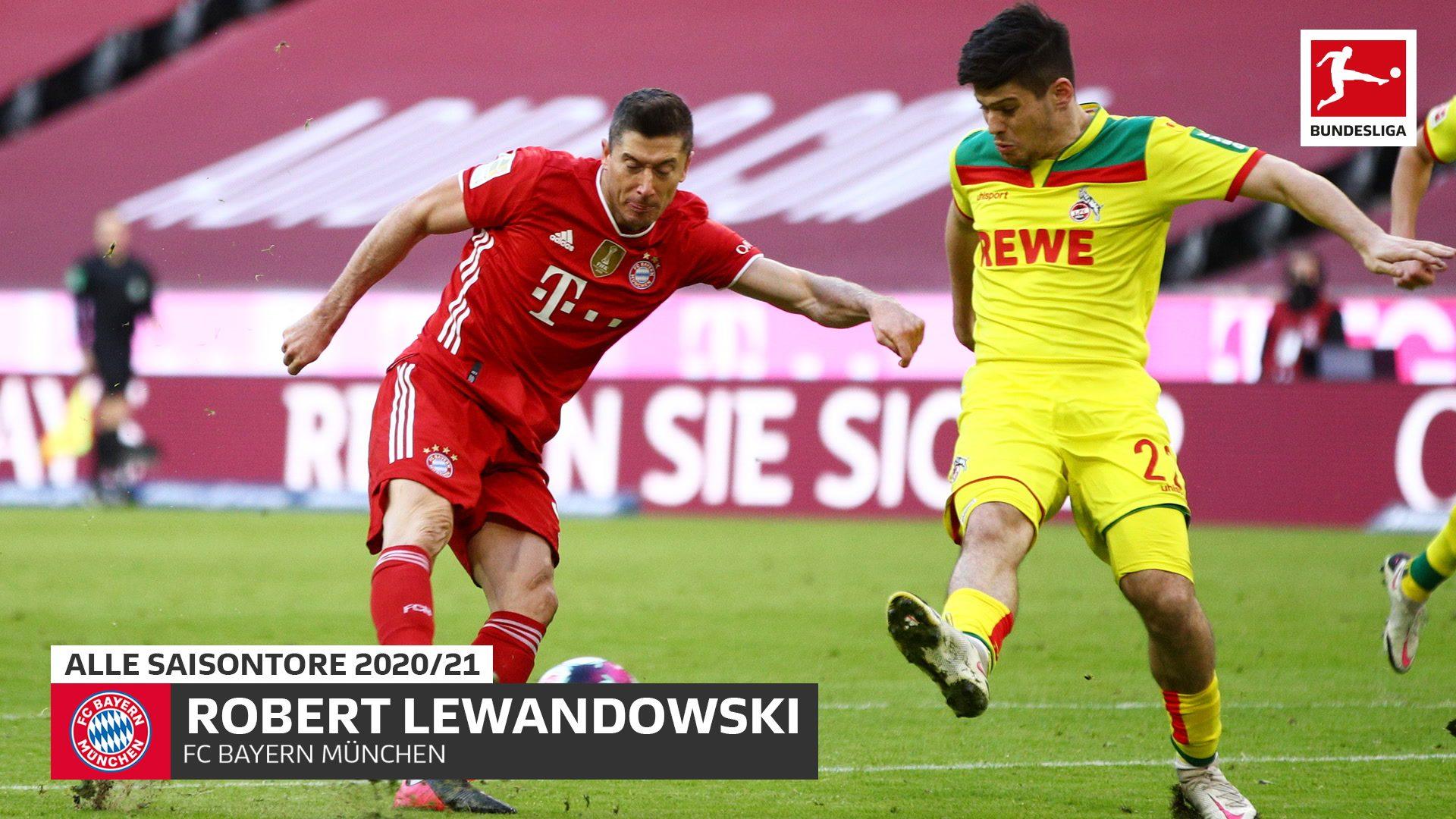 Lewandowski auf Rekordjagd: 28 Tore nach 23 Spieltagen