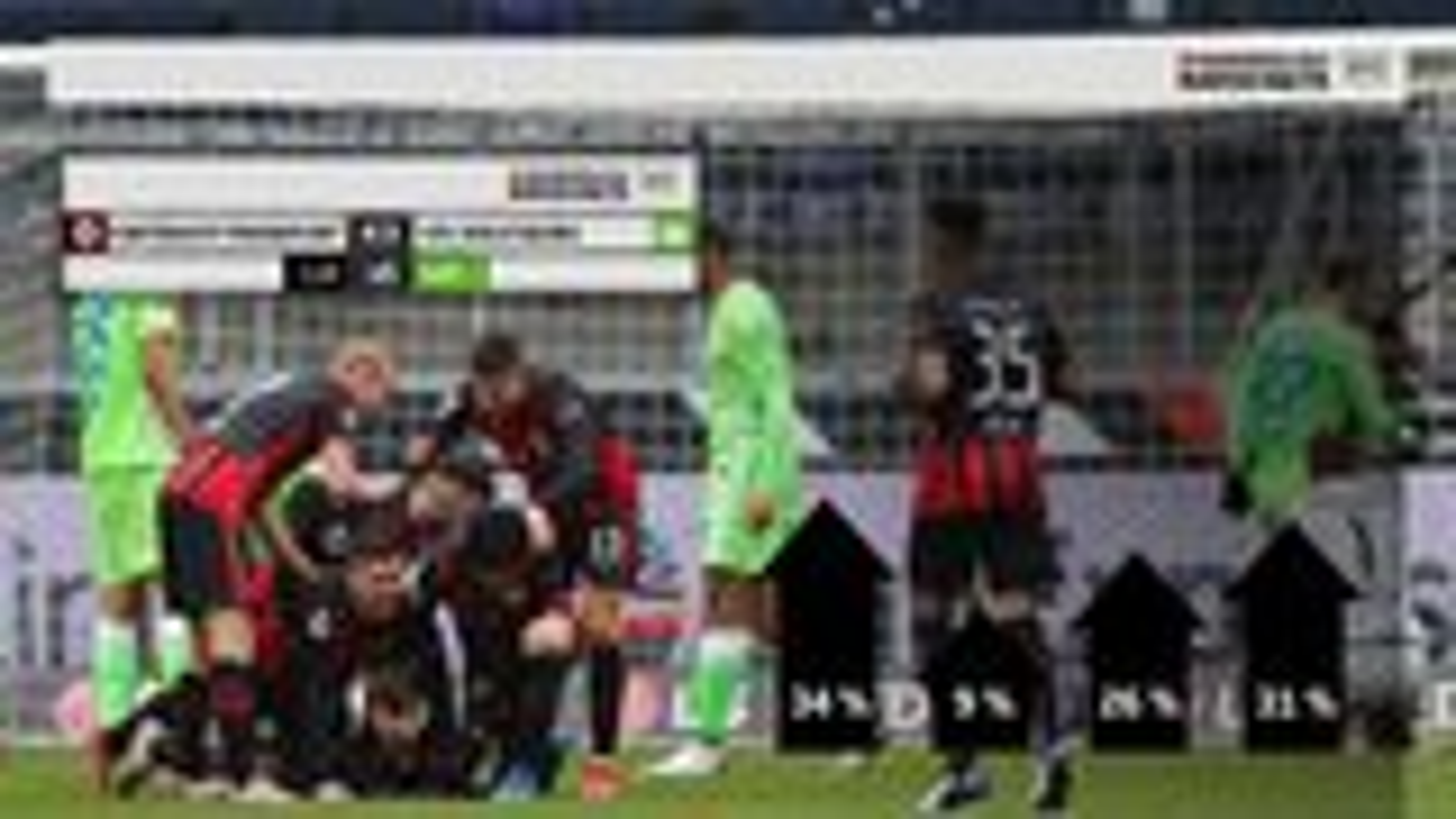 Match-Facts-Analyse: Frankfurt knackt Wolfsburg