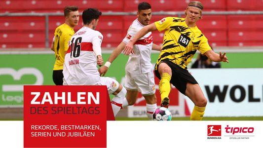 Rekorde, Jubiläen, Kurioses: Der 28. Spieltag in Zahlen
