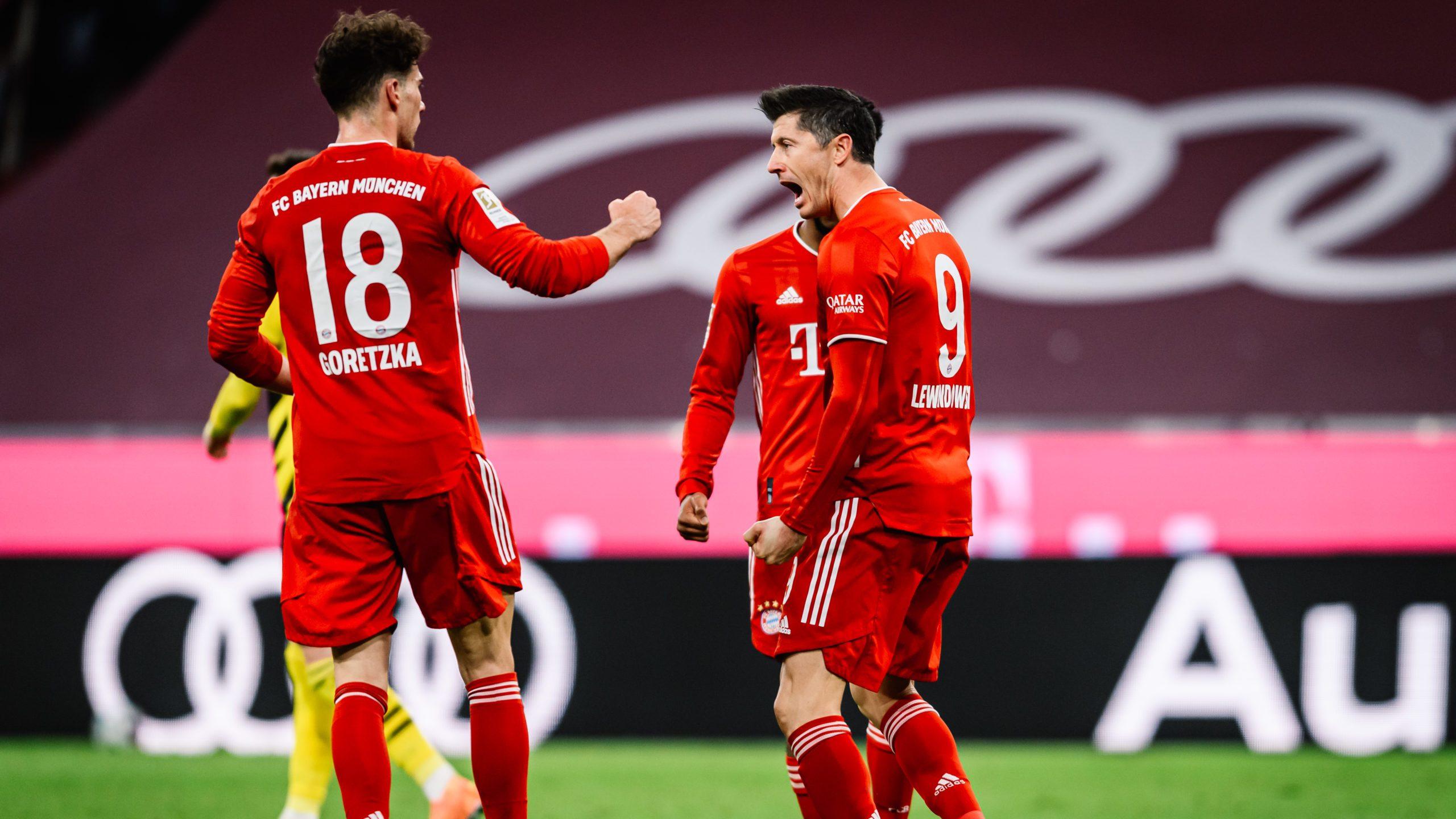 Bayerns Schlüsselspiele auf dem Weg zur Schale