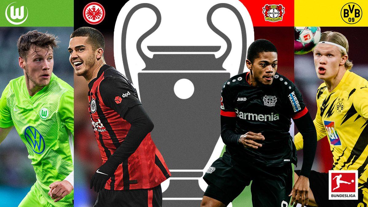 Packender Vierkampf um die Champions League