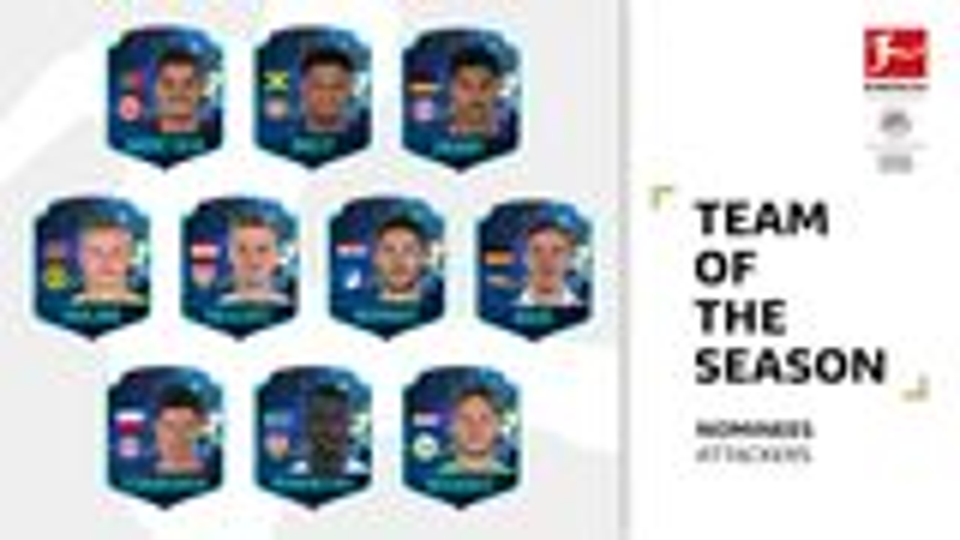 Bundesliga Team of the Season: Attackers