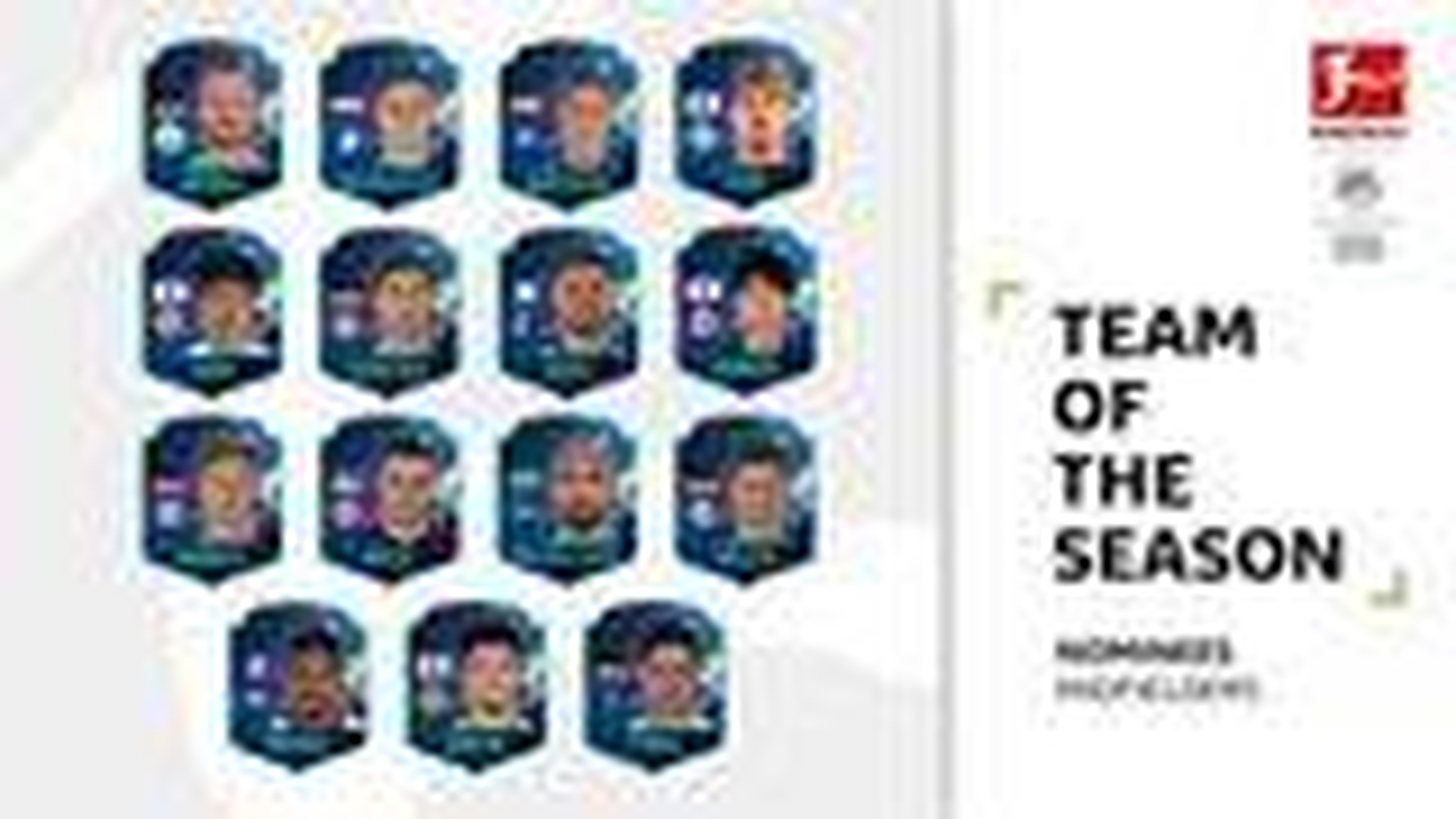 Bundesliga Team of the Season: Midfielders