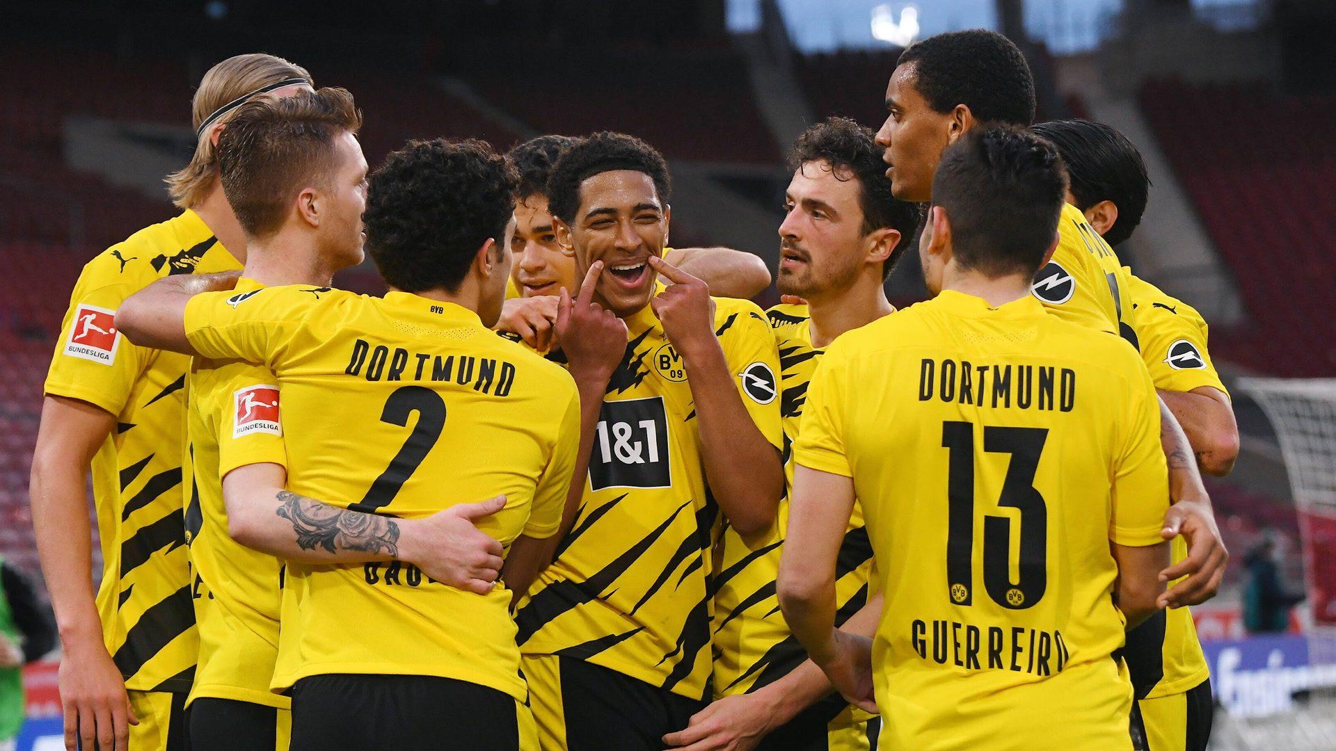 Bellingham and Knauff help Dortmund beat Stuttgart