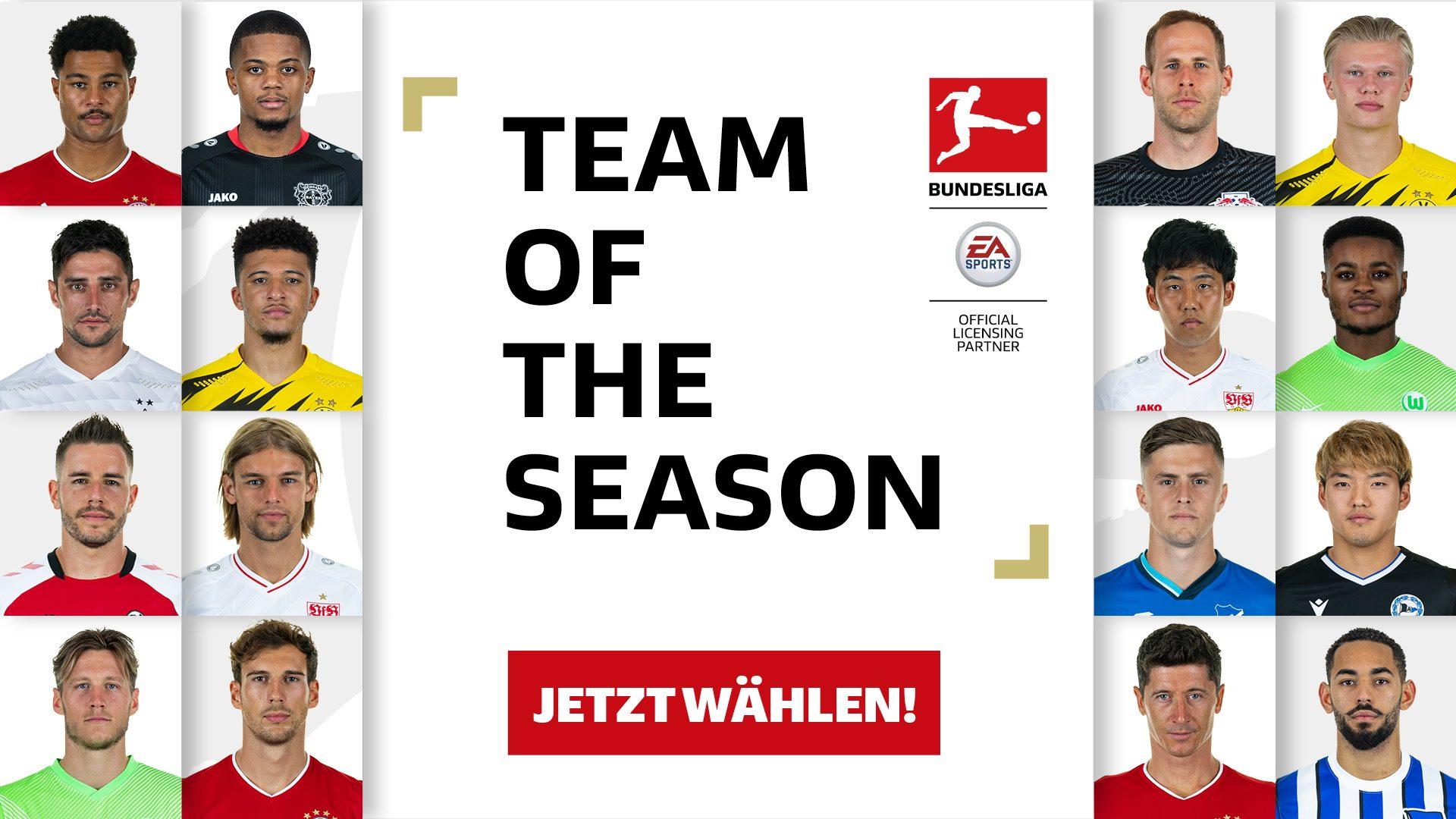 """Endspurt bei der Wahl zum """"Team of the Season""""!"""