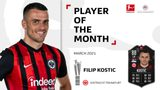 Filip Kostic named Player of the Month for March!