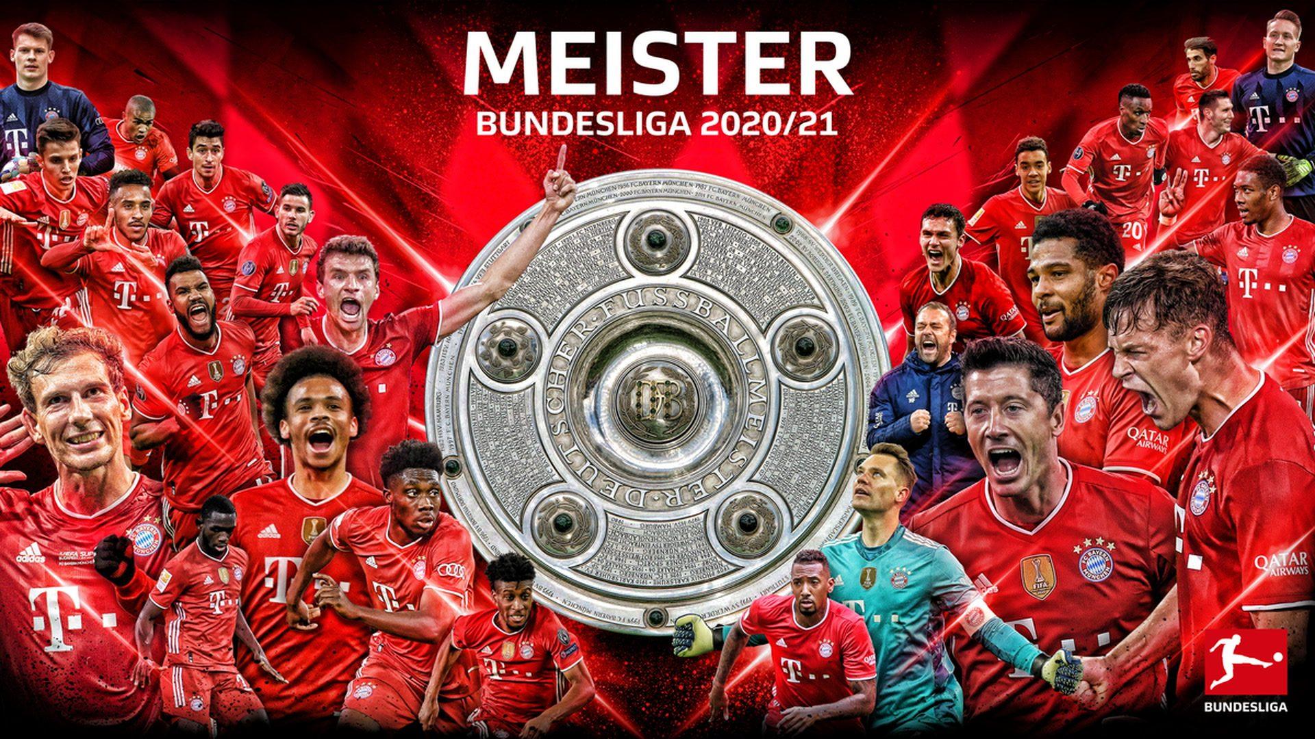 Zahlen und Fakten zur Meistersaison des FC Bayern