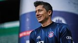Robert Lewandowski returns to training