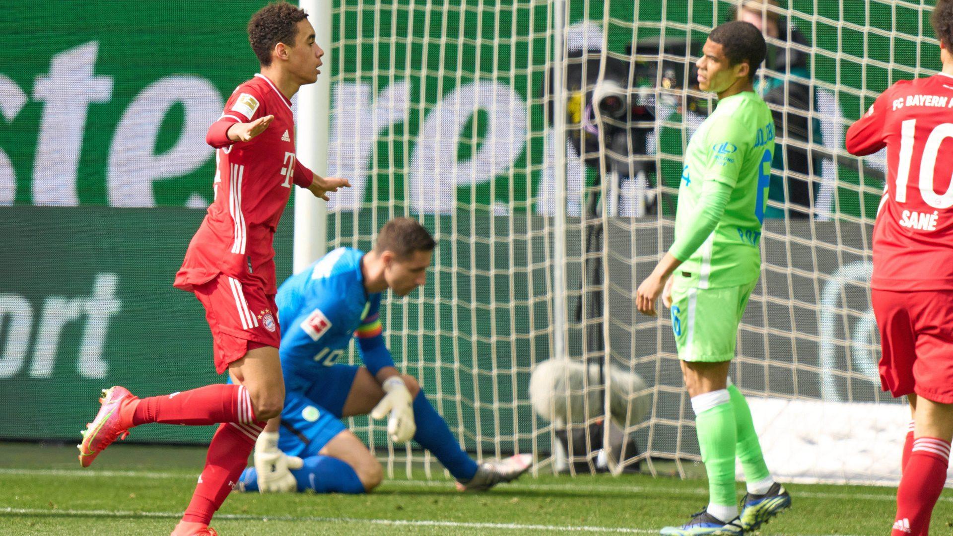 Bundesliga Vfl Wolfsburg Fc Bayern Munchen Spielbericht