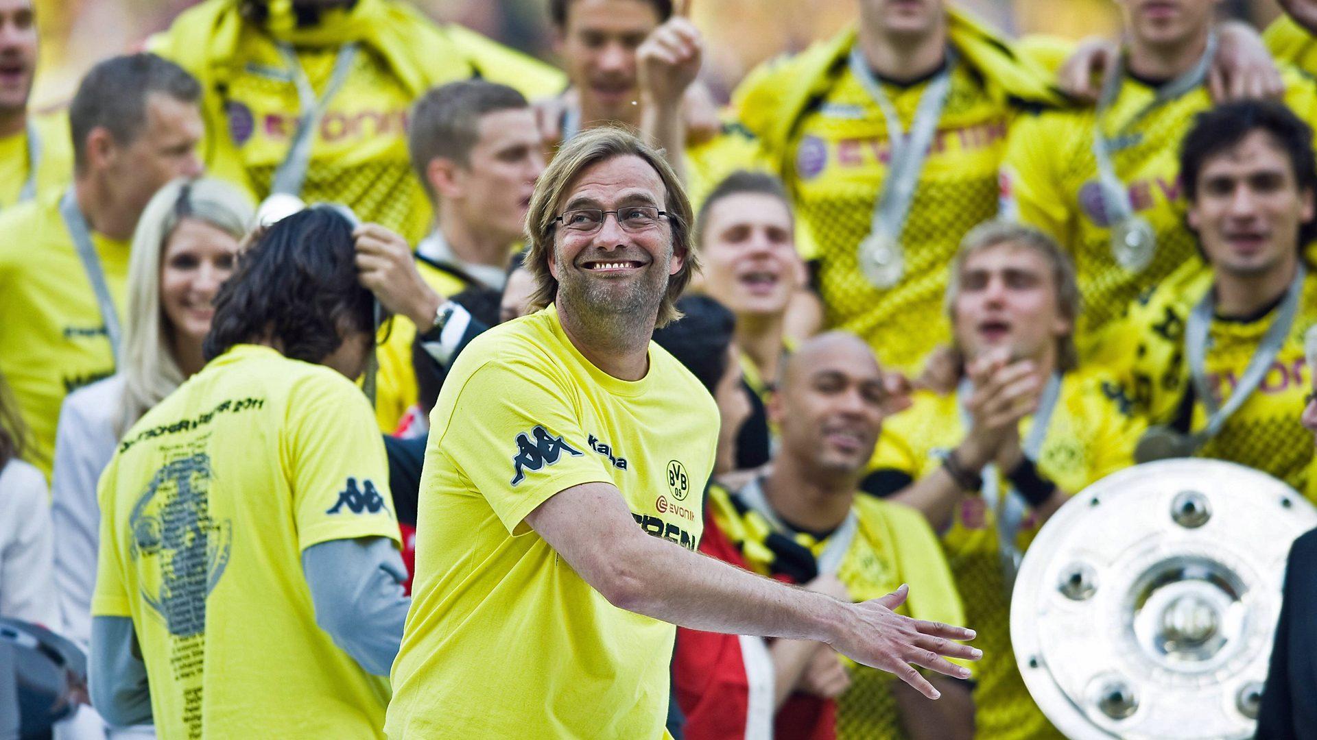 Bundesliga Jurgen Klopp S First Trophy How Borussia Dortmund Won The 2010 11 Bundesliga
