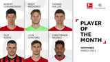 Vote for the Player of the Month for March!
