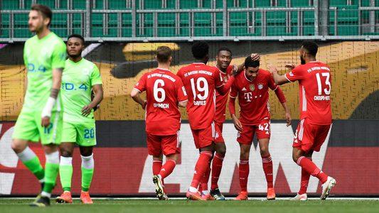 Jamal Musiala's historic brace edges Bayern Munich closer to title in Wolfsburg