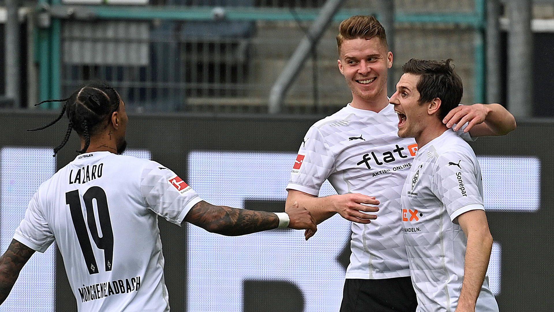 Hofmann inspires big Gladbach win over Frankfurt