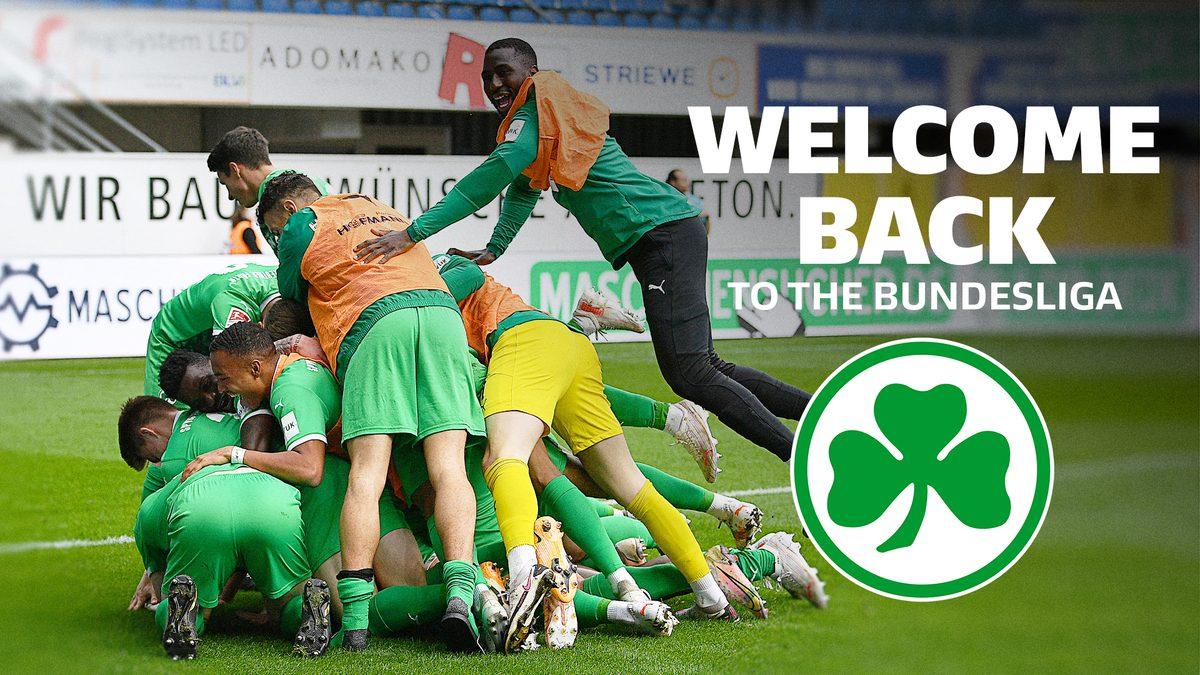 Bundesliga | Greuther Fürth: Welcome back to the Bundesliga!