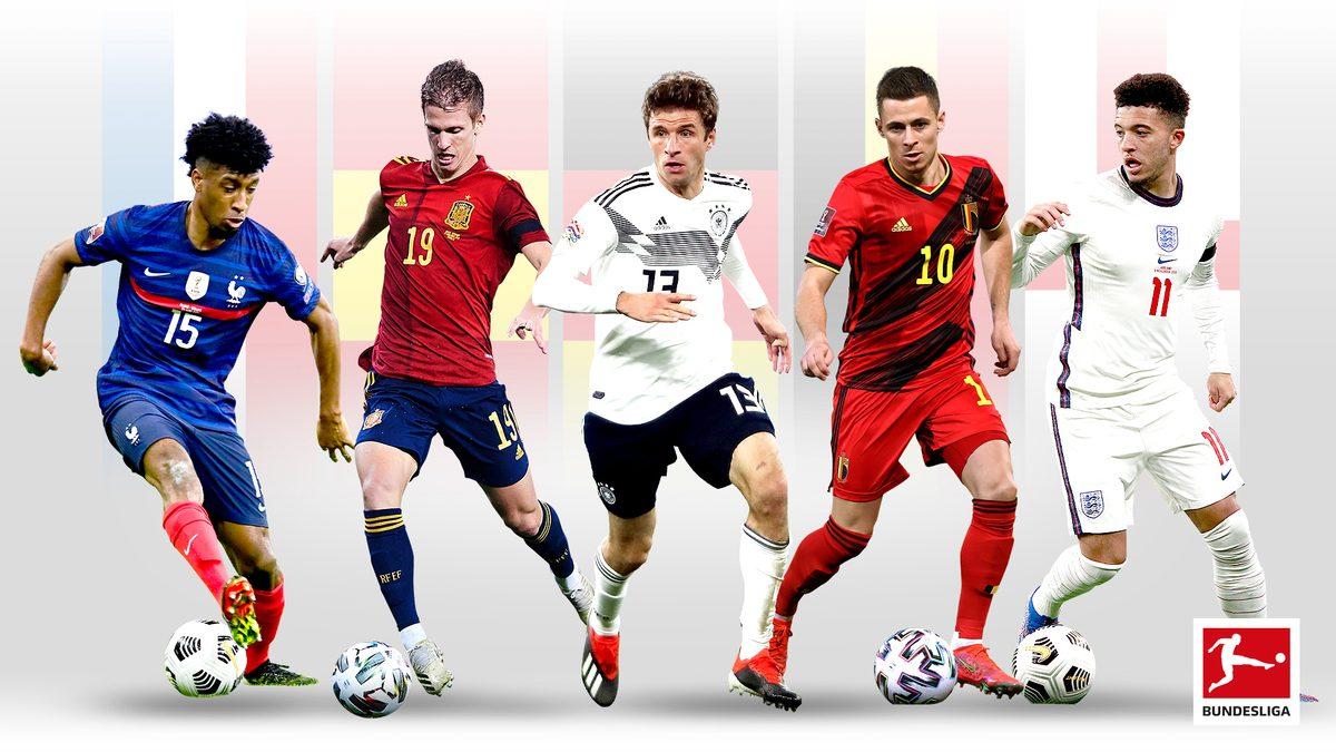 Übersicht: Bundesliga-Spieler bei der EM